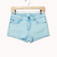 Acid Wash Denim Shorts | FOREVER 21 - 2037196631