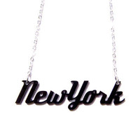 plastique*: New York Necklace, at 28% off!