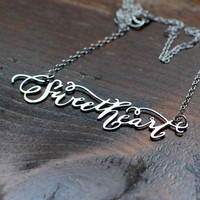 Brevity: Brevity Sweetheart Necklace, at 20% off!