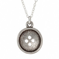 Olive Yew!: Button Necklace, at 15% off!
