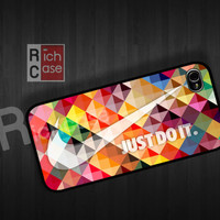 color Case iPhone 4 Case iPhone 4s Case iPhone 5 Case idea case just do it case nike case graphic case
