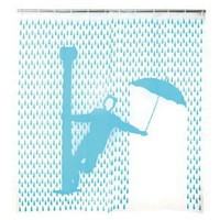 Kikkerland Singin' In The Rain Shower Curtain
