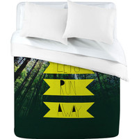 DENY Designs Home Accessories | Leah Flores Lets Run Away IX Duvet Cover