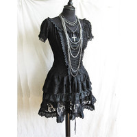2 piece dress Frances Victorian steampunk goth by SomniaRomantica
