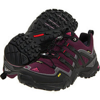 adidas Outdoor Terrex Fast X FM GORE-TEX® Solid Magenta/Black/Sharp Red  - 6pm.com