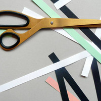 Present&Correct - Brass Scissors