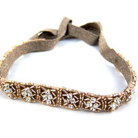 The Brigitte Chrystal Headband