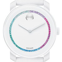 Movado 'Bold' Crystal Spectrum Watch, 42mm | Nordstrom