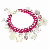 Lipsy Shell Charm Bracelet