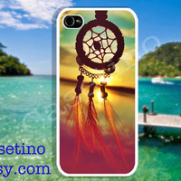 DreamCatcher Sea iPhone Case , Sumsung Galaxy S3,iPhone 5 Case , iPhone 4 Case , iphone 4s case , Plastic hard case ,Sepia, sky