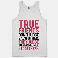 True Friends (Tank) | HUMAN