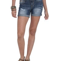 Roll Cuff Mid-Length Short | Shop Bottoms at Wet Seal