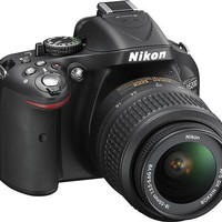 Nikon - D5200 24.1-Megapixel DSLR Camera with 18-55mm VR Lens - Black - 1503 - Best Buy