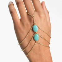 Carole Turquoise Hand Chain | Nordstrom