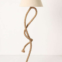 Anthropologie - Paused Rope Floor Lamp