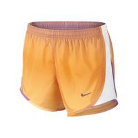 "Nike Store. Nike 3.5"" Tempo Graphic Girls' Running Shorts"