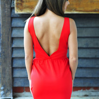 Sippin&#x27; On Summer Dress: Red | Hope&#x27;s