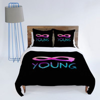 DENY Designs Home Accessories | Jacqueline Maldonado Forever Young 2 Duvet Cover