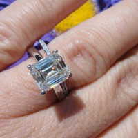 Have You Seen the Ring?: 2.22  H VVS1 EMERALD CUT SOLITAIRE
