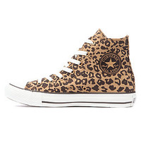 Converse The Chuck Taylor All Star Cheetah Print Hi Sneaker in Tan Black Coffee : Karmaloop.com - Global Concrete Culture