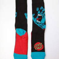 Stance Men's Screaming Hand Socks - Black