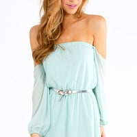 Show Me Shoulder Dress $48