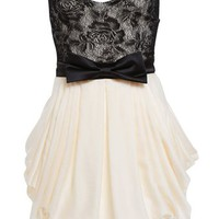 Lace Bubble Dress - Bardot