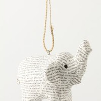 Savannah Story Ornament, Elephant - Anthropologie.com