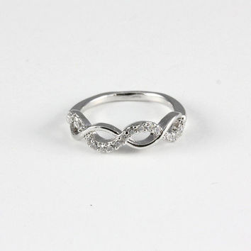 Infinity Knuckle Ring