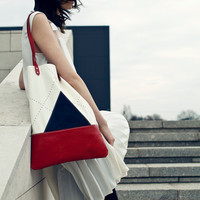 SALE Nautical Leather Tote bag No. TL- 5001