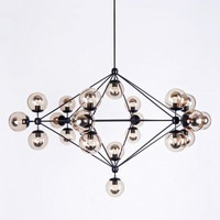 Modo Chandelier - 6 Sided, 21 Globes - Lighting