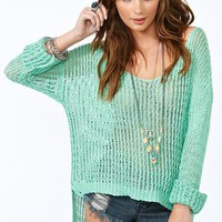 Camden Knit - Mint in What&#x27;s New at Nasty Gal
