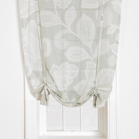 Plum &amp; Bow Sugarplum Lace Draped Shade Curtain