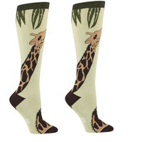 Giraffe Women's Knee Socks by Sock it To Me - Whimsical & Unique Gift Ideas for the Coolest Gift Givers