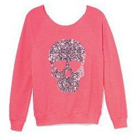Slouchy Crew - PINK - Victoria&#x27;s Secret