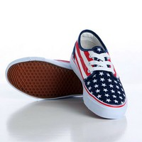Men's Canvas Stars & Stripes Shoes (2 colors) from summer