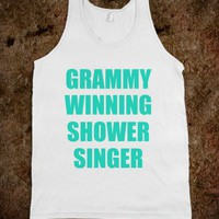 GRAMMY WINNING SHOWER SINGER - underlinedesign