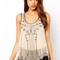 Lipsy Deco Embellished Vest