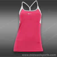 nike womens tennis tank, Nike Strappy Knit Tank 523396-665