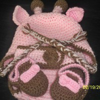 Giraffe set  from Knitting Madness