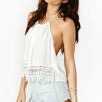 Daisy Halter Top