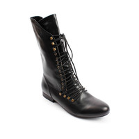 Miz Mooz 'Harlem' Lace Up Leather Boot Miz Mooz 8 by Editors' Picks