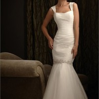 Highlight The Curve Glamour Off-the-shoulder Taffeta Wedding Dress WD1692