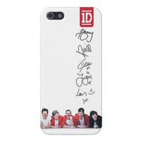 One Direction Red Nose Day iPhone 4/4s case from Zazzle.com