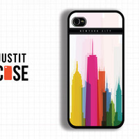 Case iPhone 4 Case iPhone 4s Case iPhone 5 Case idea case Tower case Newyork city