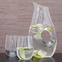Ona Large Pitcher in Pitchers and Decanters | Crate and Barrel
