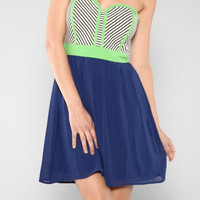Sailor Sweetheart Dress Royal Blue | Bellum&Rogue