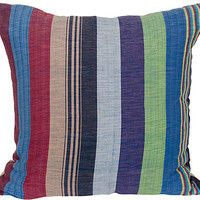 One Kings Lane - A Vintage Marine Mood - Hammock-Stripe Pillow
