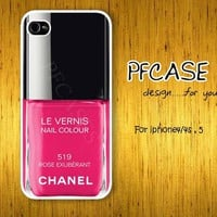 Neil polish Rose Exuberant color:For Iphone 4/4s ,5 / Samsung S2,S3,S4