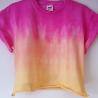 Tutti Frutti Cropped Tee (Pre-order 4-5 working days)